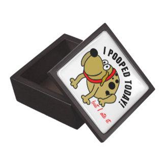 I Pooped Today Premium Keepsake Boxes