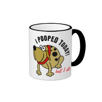 I Pooped Today Ringer Mug