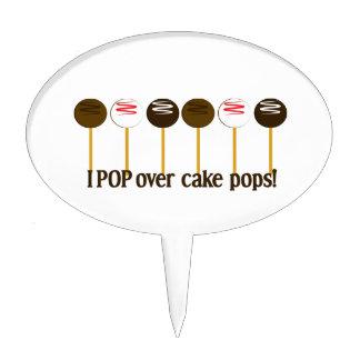 I Pop Over Cake Pops Cake Picks