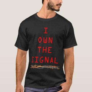 I poseer la camisa de la señal