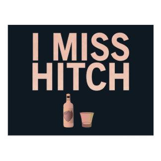 I postal de Srta. Hitch (luz en oscuridad)