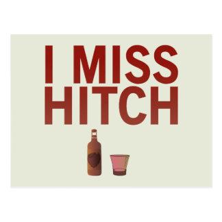 I postal de Srta. Hitch (oscuro en luz)