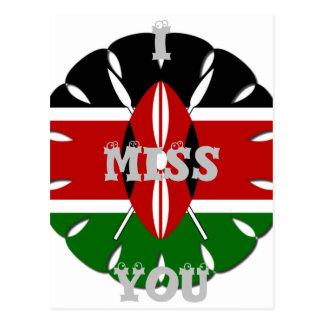 I postal de Srta. You Kenia