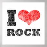 I poster apenado roca del corazón