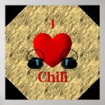 I poster del chile del corazón