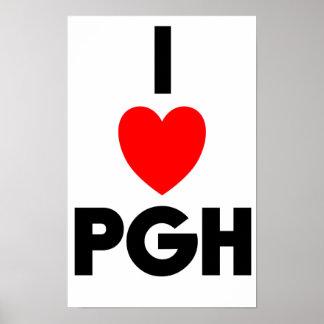 I poster del corazón PGH