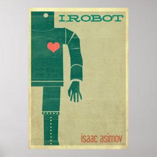 I poster del robot póster
