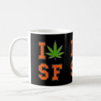 I potleaf SF mug black