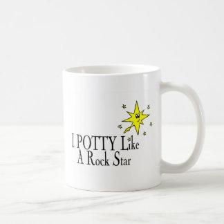 I POTTY Like A Rock Star Coffee Mug