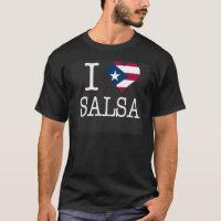 I PR Heart SALSA Black 2 T-Shirt