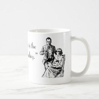 """I prefer reading"" mug"