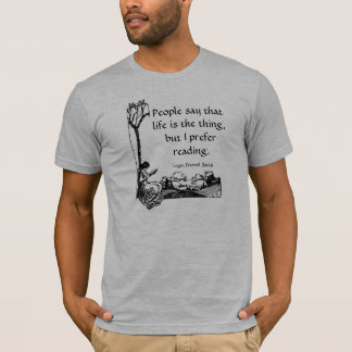 """I prefer reading"" T-shirt"