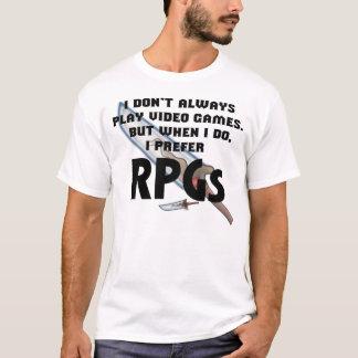"""""""I Prefer RPGs"""" Shirt"""