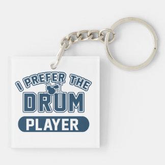 I Prefer The Drum Player Keychain