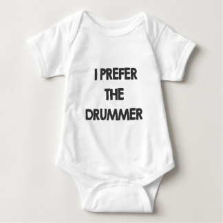 I prefer the drummer baby bodysuit