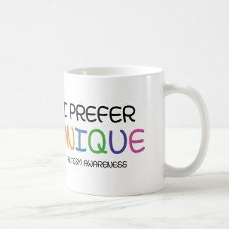 I Prefer Unique – Autism Awareness Coffee Mug
