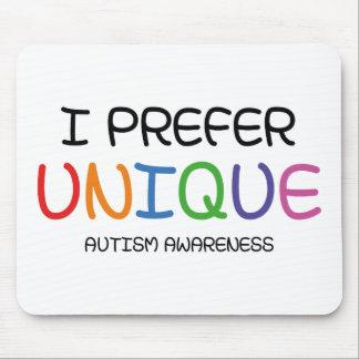 I Prefer Unique – Autism Awareness Mouse Pad
