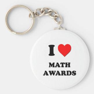 I premios de la matemáticas del corazón llavero