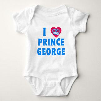 I príncipe George del corazón Body Para Bebé
