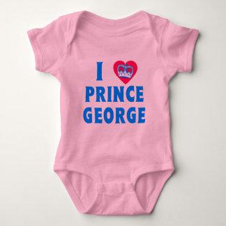 I PRÍNCIPE GEORGE del CORAZÓN con el corazón y la Body Para Bebé