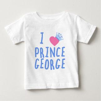 I príncipe George del corazón Playera De Bebé