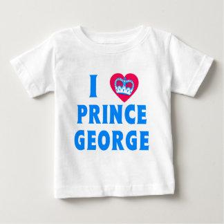 I príncipe George del corazón Playera Para Bebé
