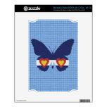 I productos de la mariposa de la bandera de Colora Calcomanías Para NOOK