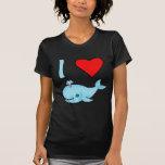 I productos de las ballenas del corazón camisetas