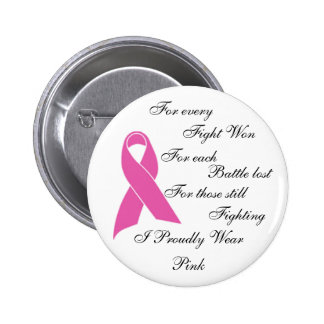 I Proudly Wear Pink Pinback Button