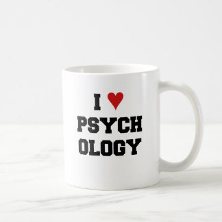 I ♥ PSYCHOLOGY COFFEE MUG