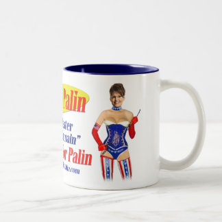 I Pulled For Palin - Master Of My Domain Mug