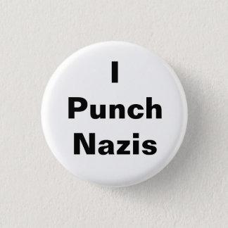 I Punch Nazis Pinback Button