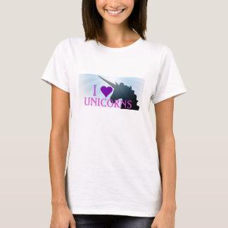 I Purple Heart Unicorns T-Shirt