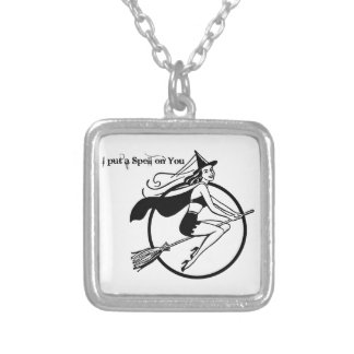 I Put a Spell on You Silver Plated Necklace
