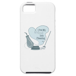 I Put My Heart Into Cleaning iPhone 5 Covers