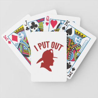I Put Out Bicycle Playing Cards