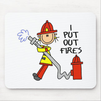 I Put Out Fires Mousepad