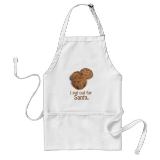 I put out for Santa -.png Adult Apron