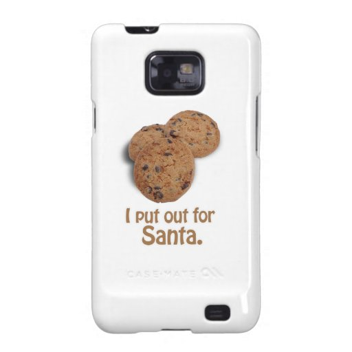 I put out for Santa -.png Galaxy SII Case