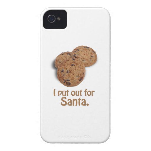 I put out for Santa -.png iPhone 4 Case-Mate Case