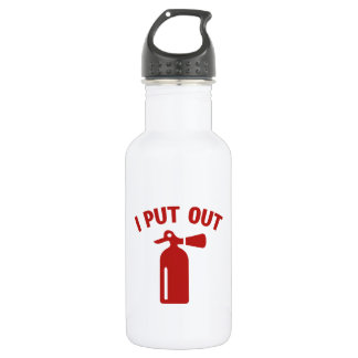 I Put Out Stainless Steel Water Bottle