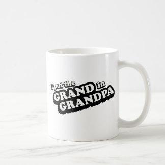 I Put The Grand In Grandpa Coffee Mug