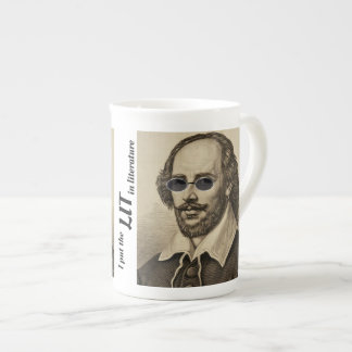 I put the LIT in literature Shakespeare Tea Cup
