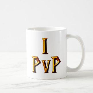 I PvP Classic White Coffee Mug