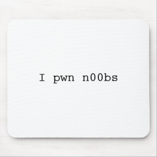 I pwn n00bs Mousepad