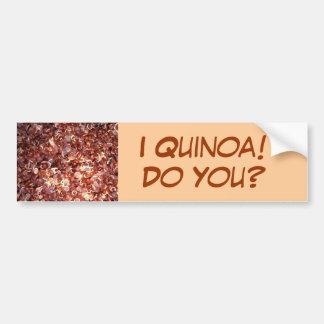 ¡I quinoa! ¿, Hágale? Pegatina Para Auto