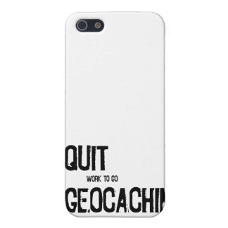 I Quit Geocaching?! Case For iPhone SE/5/5s