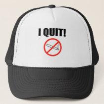 I QUIT.png Trucker Hat