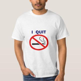 I Quit Smoking Basic T-shirt