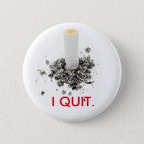 I quit smoking button
